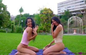 Amy Velez & Katrina Osuna – Latina Lesbians