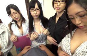 Asahi Mizuno, Aimi Yoshikawa, Mio Kimishima, Nene Sakura, Run Yuka — English Tutors Teach Him How To Be A Man