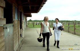 Ava Dalush & Victoria Summers – Riding The Stable-Boy