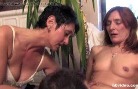 Bbvideo.com Bi German Milf Babes Shares Cock