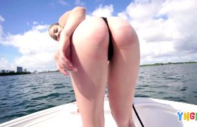 Brie Viano Goes On A Boat Ride To Get Fucked On An Island