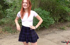 Charli Red – Passionate Redhead, Take Van