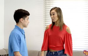 Christy Love – The Exchange Student – Catch Me If You Can