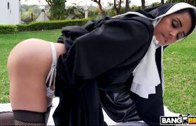 Dirty Nun Fucks The Gardene