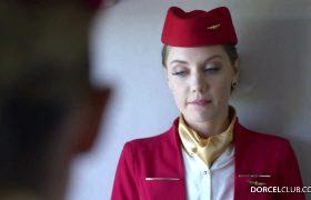 Elena Koshka – A Caring Stewardess