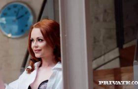Ella Hughes – Horny Redhead Fucks The Painter