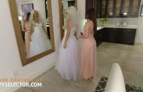 Elsa Jean And Her Bridesmaids Fuck The Groom