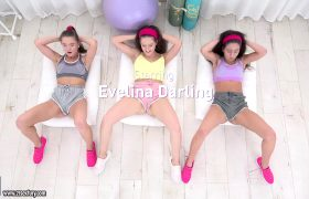 Evelina,Mickey – Cute Cameltoes