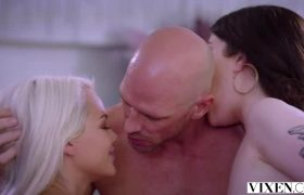 Evelyn Claire And Elsa Jean – First Time