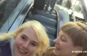 Getting Caught On The Train.