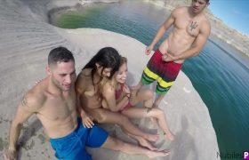 Gina Valentina & Haley Reed – Spring Break: Lake Powell