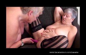 Granny Savana – Squirting Grannies