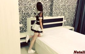 Insanely Hot French Maid Desperately Needs A Big Dick