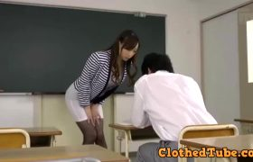 Kurea Hasumi – Fucking Her Student During Detention