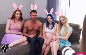 Lacy Lennon, Emma Starletto, Jewelz Blu – My Step Cousins Are Bad Bunnies