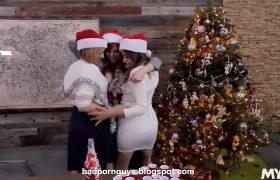 Lauren Phillips, Natasha Ianova And Kate England – A Bad Mylfs Xmas