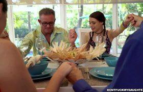 Lucie Kline – Under The Family Dinner Table
