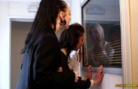 Office Voyeurs – Louisa Moon, Alessa Savage & Kirsty Travis