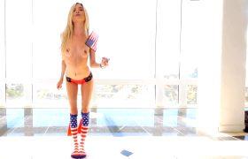 Piper Perri Gets A Patriotic Pounding