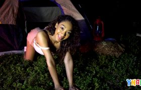 Sarah Lace Gets Pounded Deep In A Nighttime Camping Trip