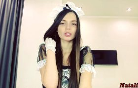 Sensual Edging Handjob By Young French Maid