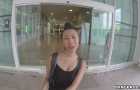 Sharon Lee – Big Tit Asian Chick Fucked In Public