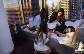 Valentina Nappi, Emily Willis, Ana Foxxx, Milana May – Epic Orgy