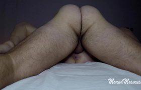 Watch Him Pound Me To Orgasm Then I Make Him Cum On My Tits