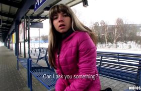 Younger Gina Gerson – Pick Up At Train Station