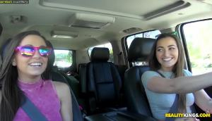Abigail Mac And Dani Daniels — Dirty Road Trip