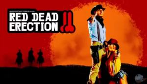 April O'neil – Red Dead Erection