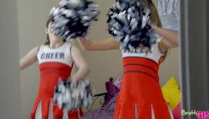 Athena Faris & Ember Stone – Cheer Practice