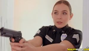 Blair Williams & Scarlett Johnson – Two Cops In Heat