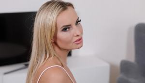 Blonde Ass Gets Sticky With Sperm