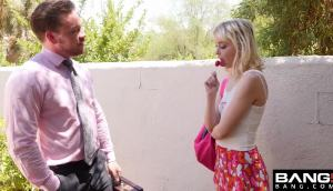 Chloe Cherry – Naughty Schoolgirl Fucks The Teacher