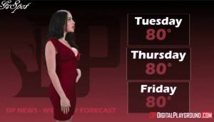 Digitial Playground – Victoria June – Latina Weather Girl