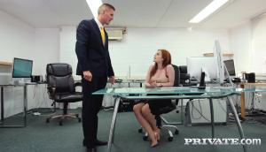 Ella Hughes – Earns Her Job Fucking The Boss