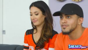 Eva Lovia's Boyfriend Is Hooked On The Game