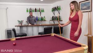 Gabbie Carter Is A Pool Shark That Is Looking For Some Dick