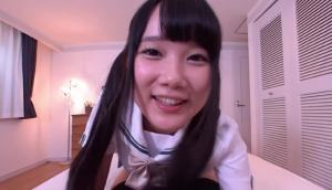 Japanese School Girl Comes To Wake You Up