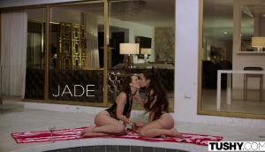 Lana Rhoades & Jade Nile – Sharing Her Ass With My Husband