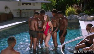 Lena Paul – Anything For Daddy – Lena Takes On 7 Guys