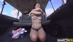 Liv Wild – Liv Wild Fucks In The Bus To Get A Job