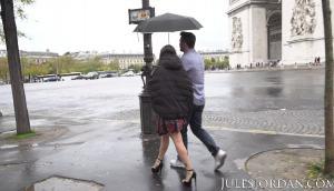 Malena Goes On The Paris Anal Tour
