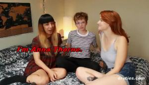 Natie, Margo & Anna Have A Threesome.