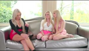 Nina Elle, Kenzie Reeves And Chloe Foster – Mommy Squirts On Us