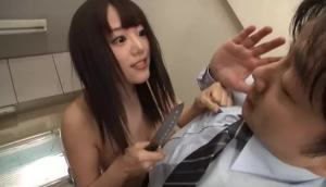 Nympho Asian Wants His Cum