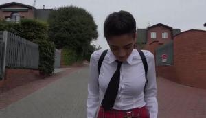 Penelope Cum, Daphne Angel – Maid Fucks Teen In School Uniform