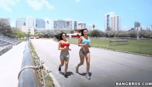 Rachel Starr & Abella Anderson Tema Up In This Episode Of Ass Parade