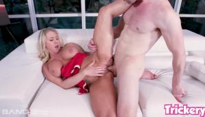 Stuffing Katie Morgan's Hot Pussy